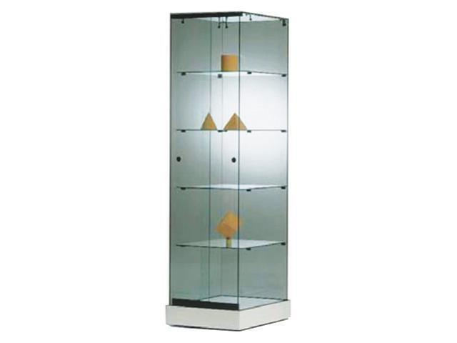 Frameless Showcases 500X460X1820mm 5 Tier