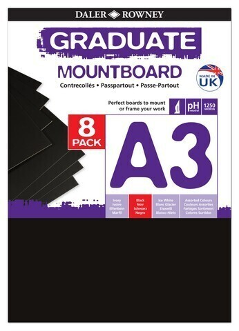 Graduate Mountboards Black A3