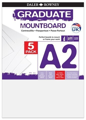 Graduate Mountboards Ice White A2