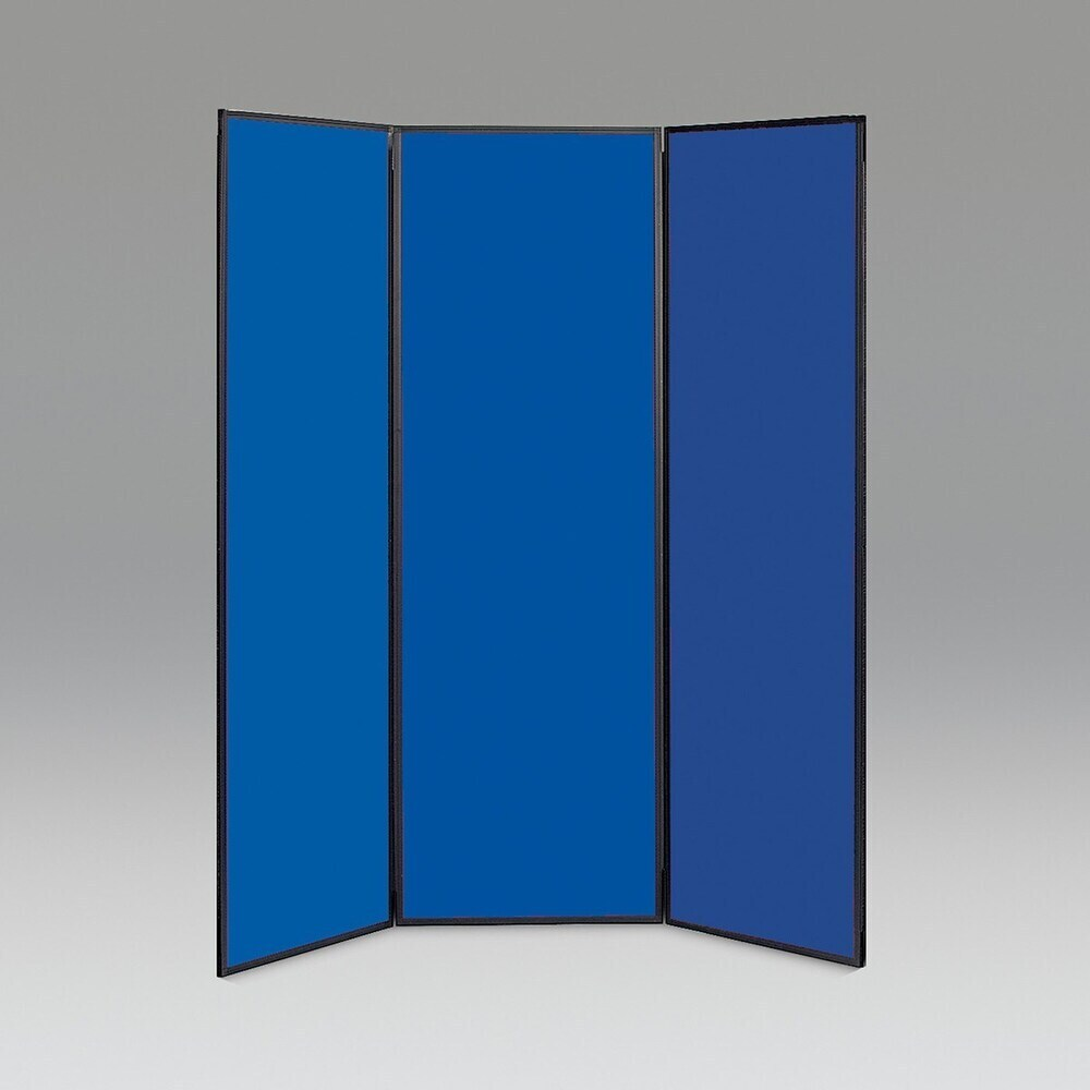 Busyfold Light 1800 Display System 3 Panel Blue