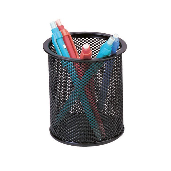 Mesh Pen Pot Black