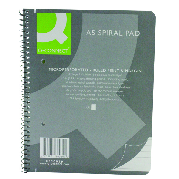 Executive Spiral Pad A5 160 Pages -((V))