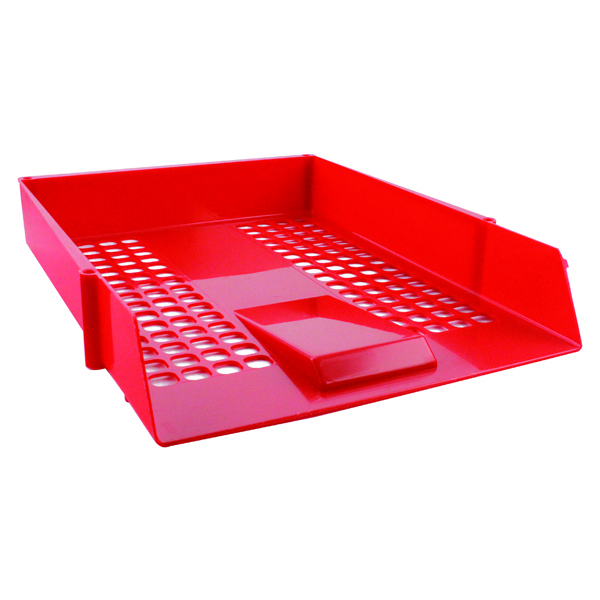 Standard Entry Letter Tray Red