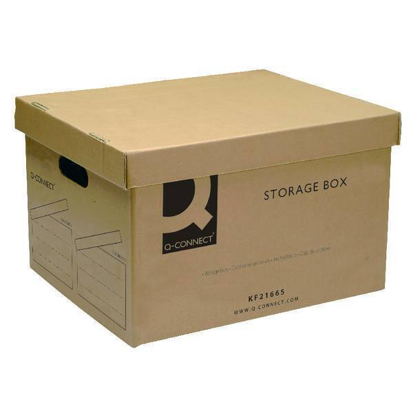 Storage Boxes Heavy Single Wall Brown