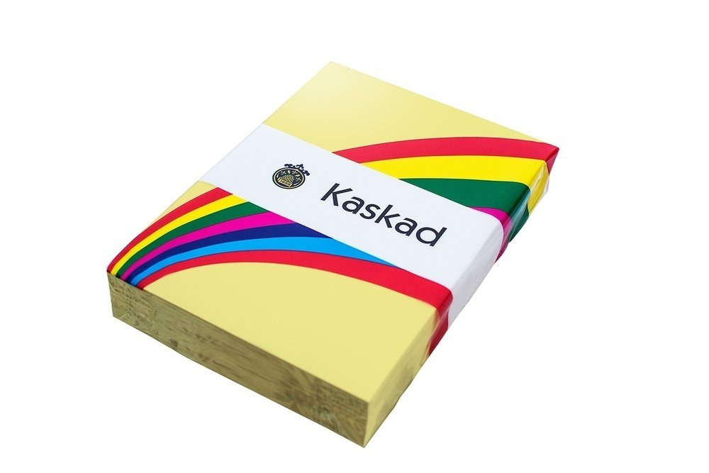 Kaskad Pastel Tints A4 80gsm Bunting Yellow