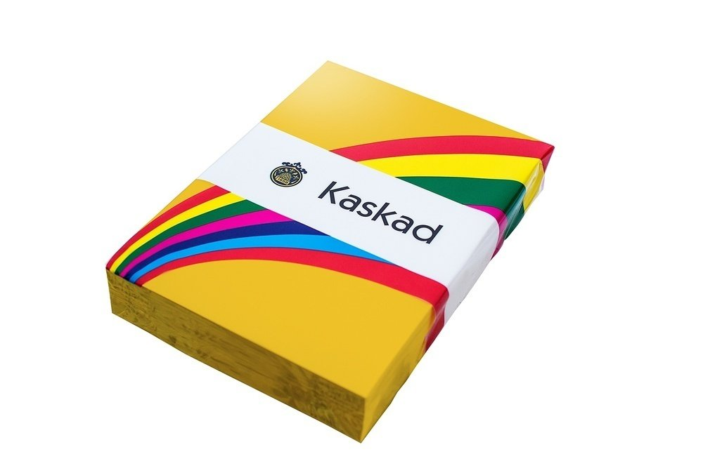 Kaskad Bright Tints A4 80gsm Canary Yellow
