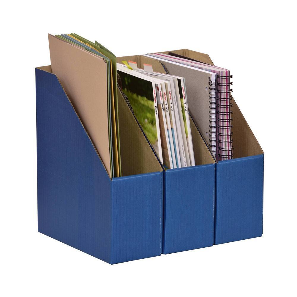 Library Boxes Blue - LL2/10BL