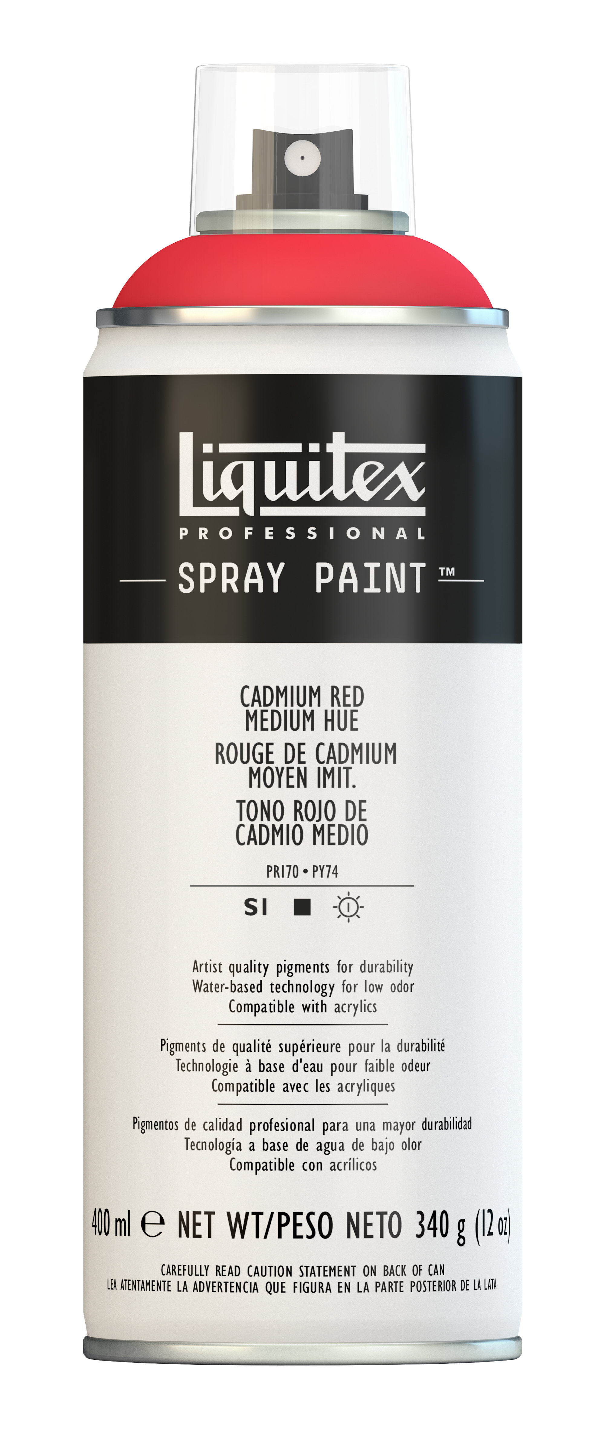 Liquitex Srapy Paint 400ml Cad Red Med Hue