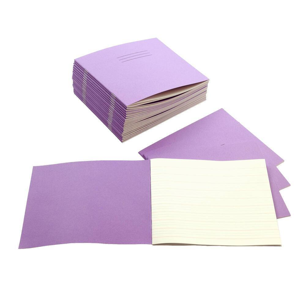Exercise Books 6 X 8 32 Page Learn To Write Vivid Purple