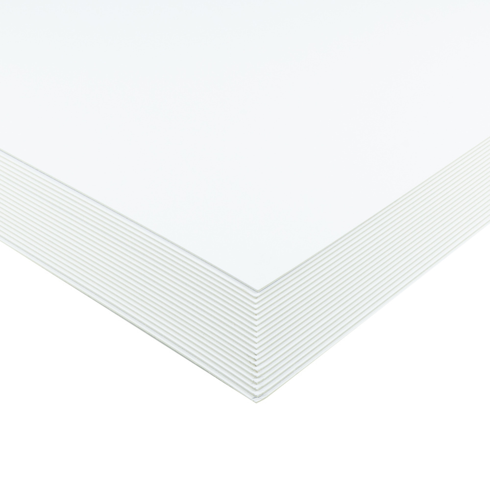 Mountboard A1 Double Sided - Highwhite/ White