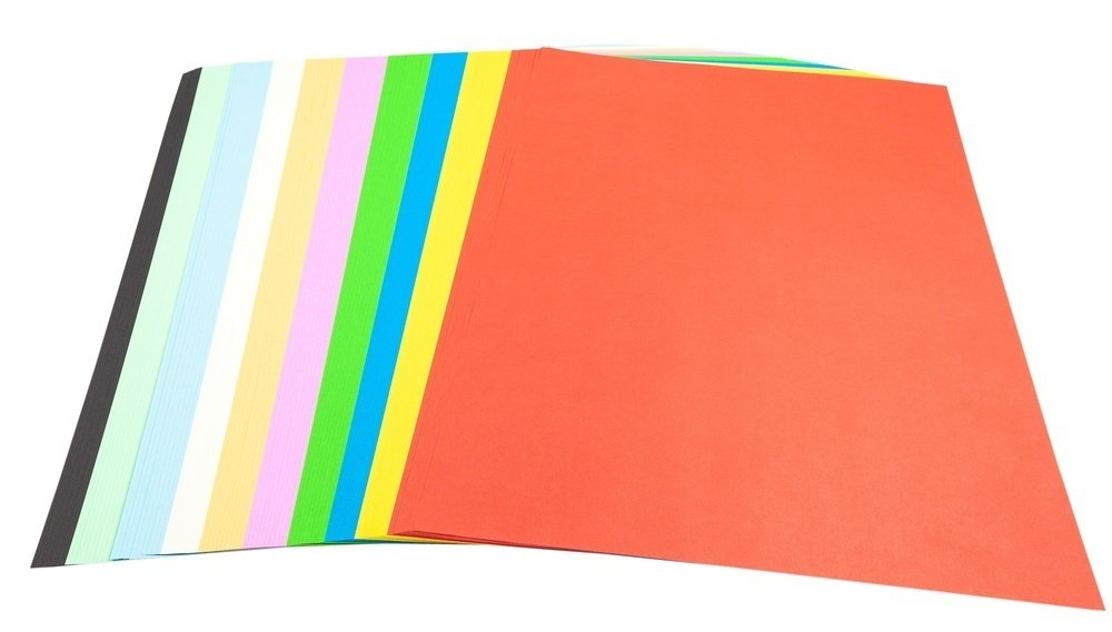 Mounting Paper Assorted Colours A3