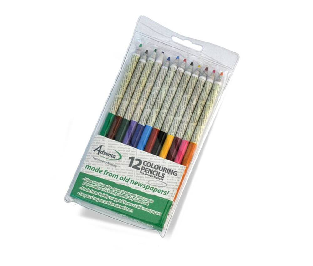 Reclaim Newspaper Colouring Pencils  ***WHILE STOCKS LAST***
