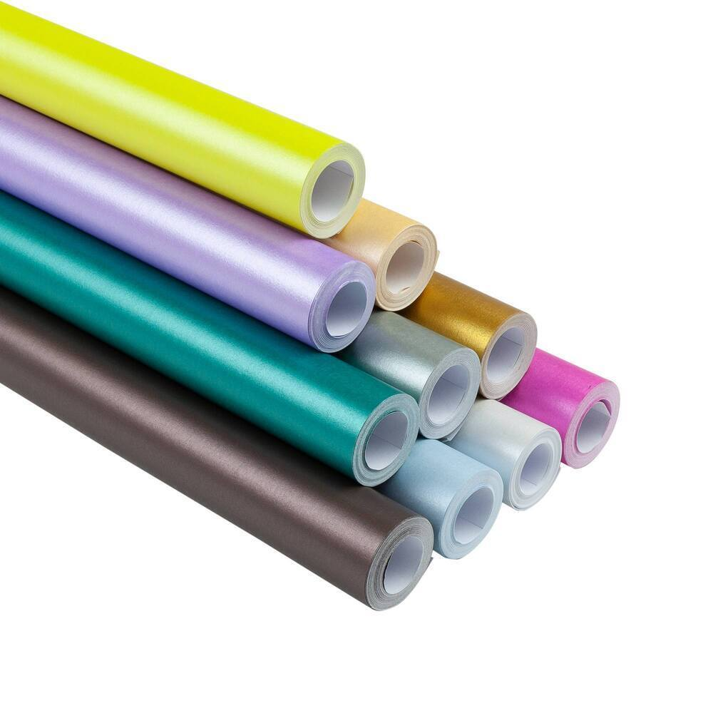 Pearlescent Display Roll 700mm X 4M Assorted