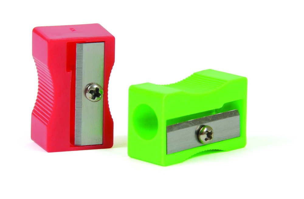 Pencil Sharpener Plastic Single Hole