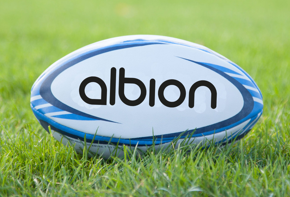 Albion Classic Rugby Ball - Size 4