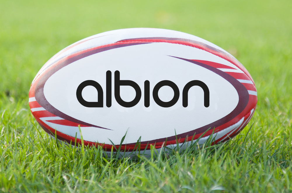 Albion Classic Rugby Ball - Size 5