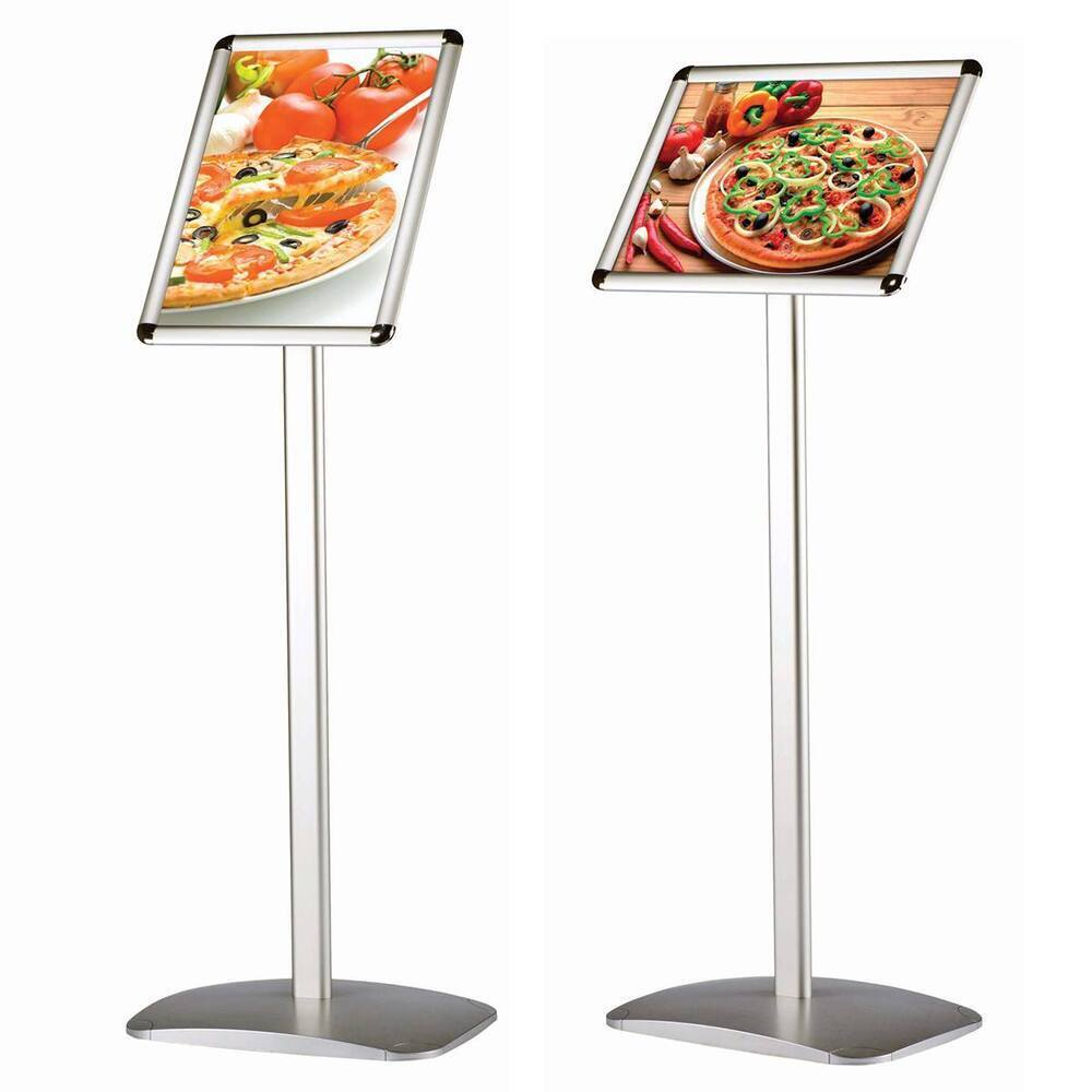 Busygrip Aluminium Standard Information Stand A4