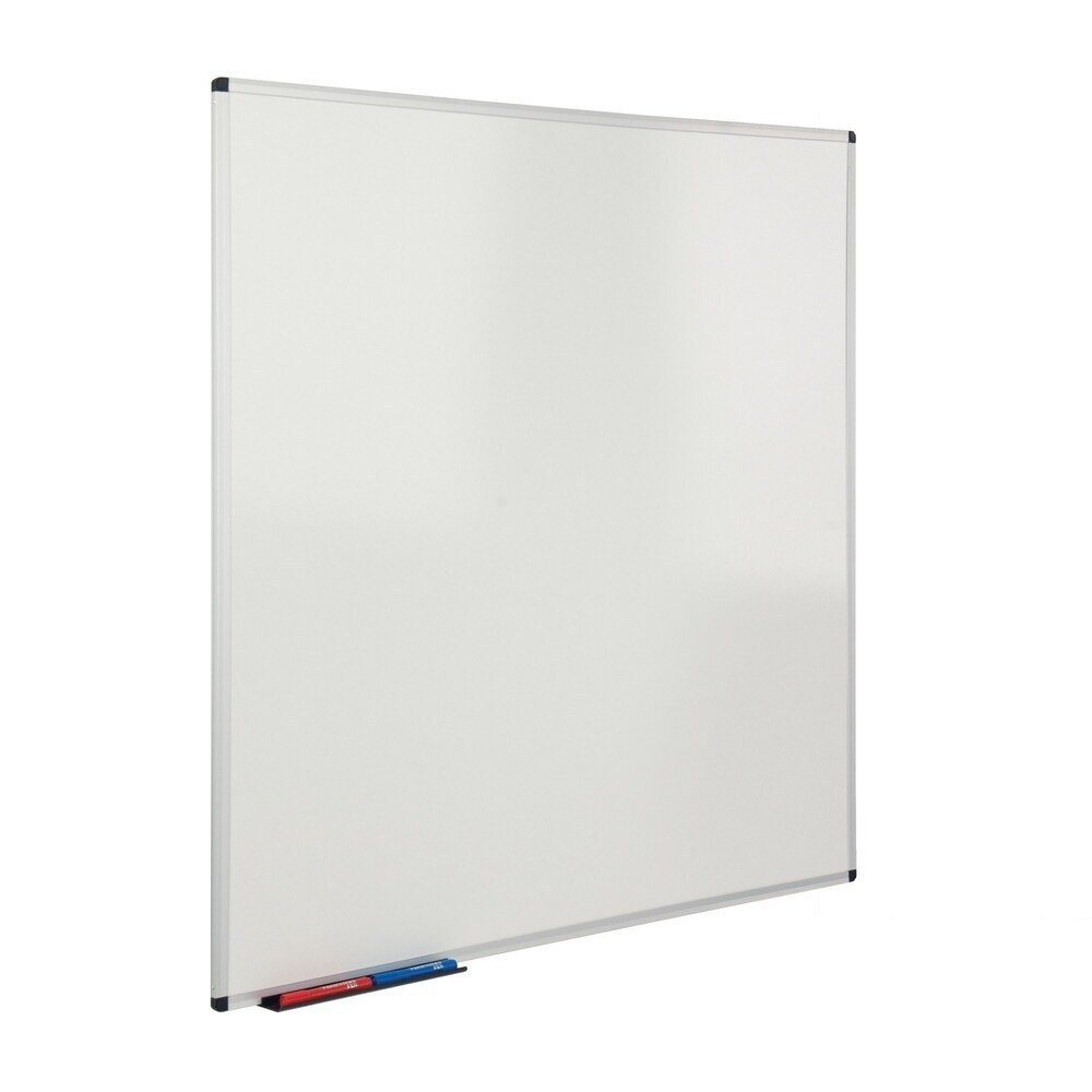 Plain and Gridded Drywipe Board 1200X1200mm Aluminium