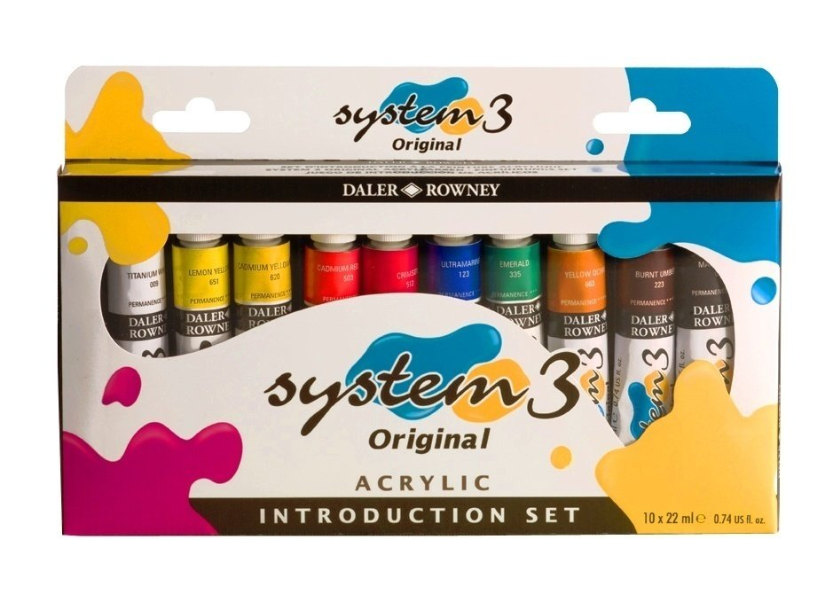 System 3 Intro Set 10 x 22ml
