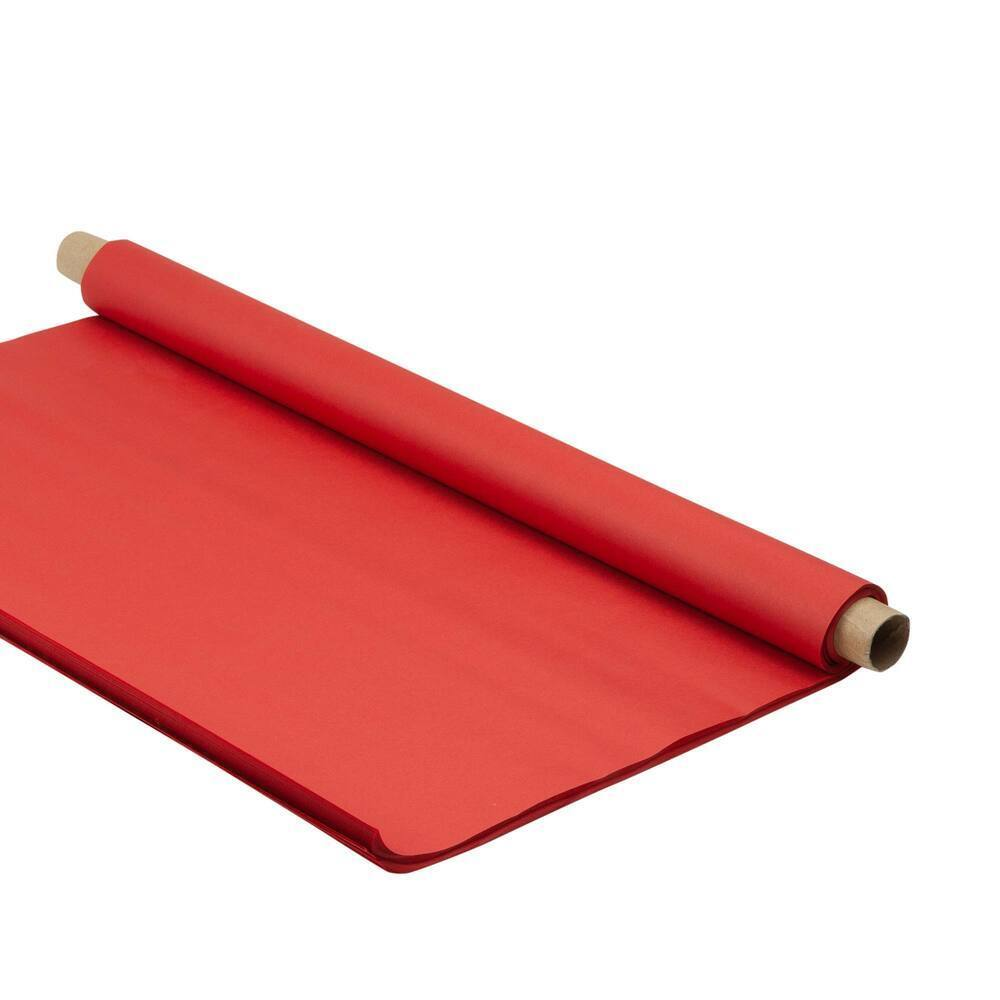 Tissue Red 48 Sheets 507X761mm 18gsm