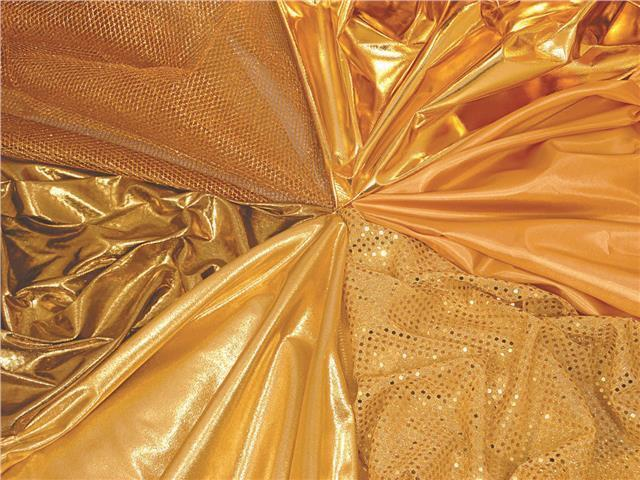 Gold Fabric Pack 5x1m