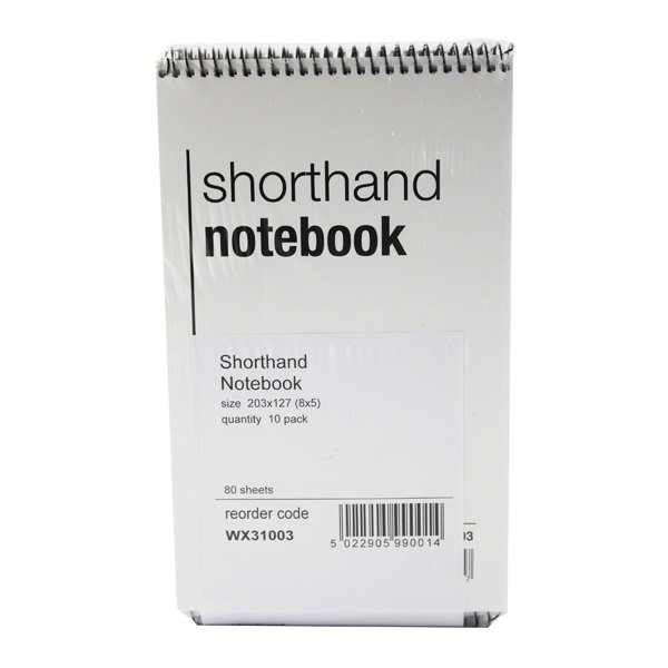 Shorthand Notebooks 160 Pages