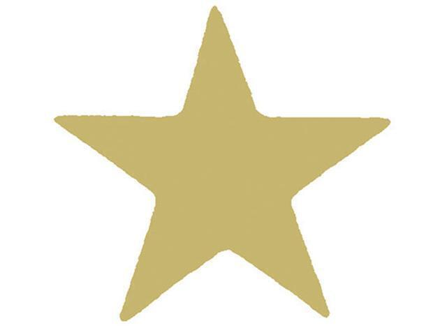 Xclamation Stamper Gold Star Gold