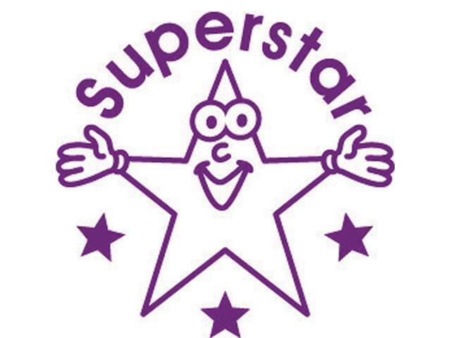 Xclamation Stamper 'Super Star' Lilac