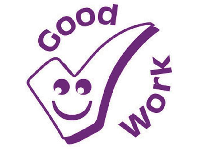 Xclamation Stamper 'Good Work' Lilac