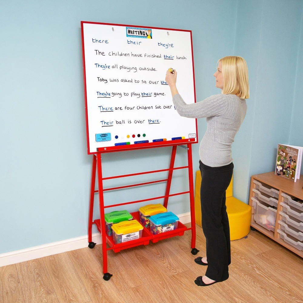 Big A Frame Mobile Easel Red