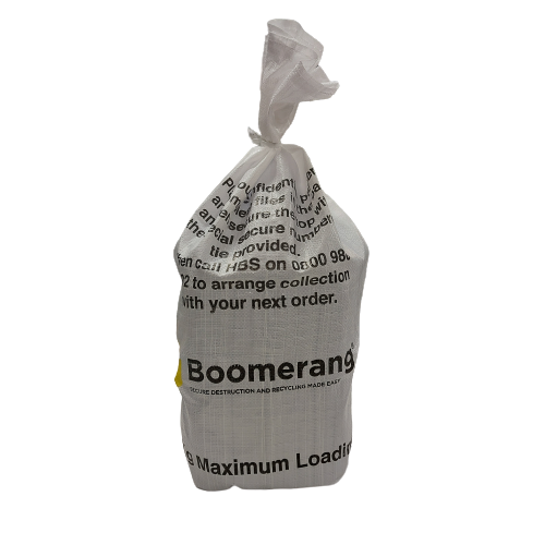 Boomerang Secure Destruction and Recycling Bags