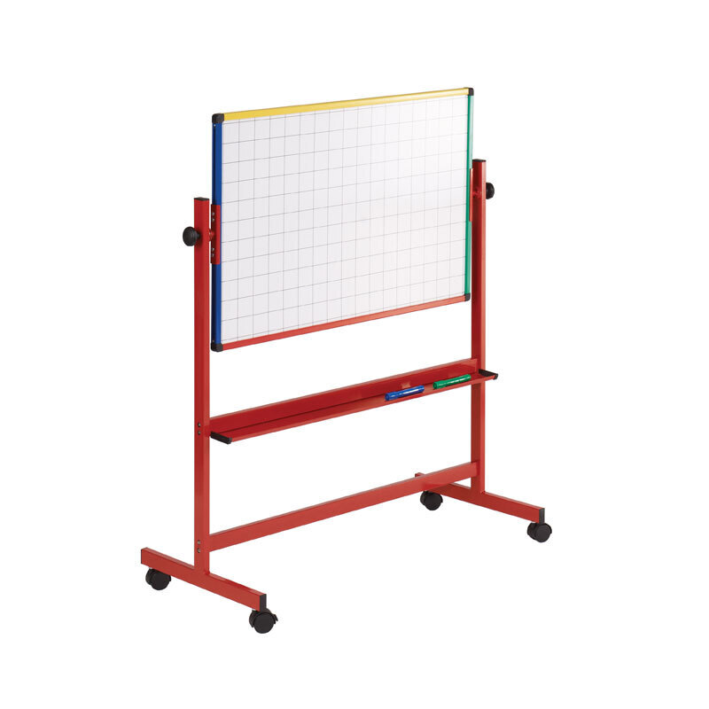 WriteOn Junior Mobile Whiteboards Red
