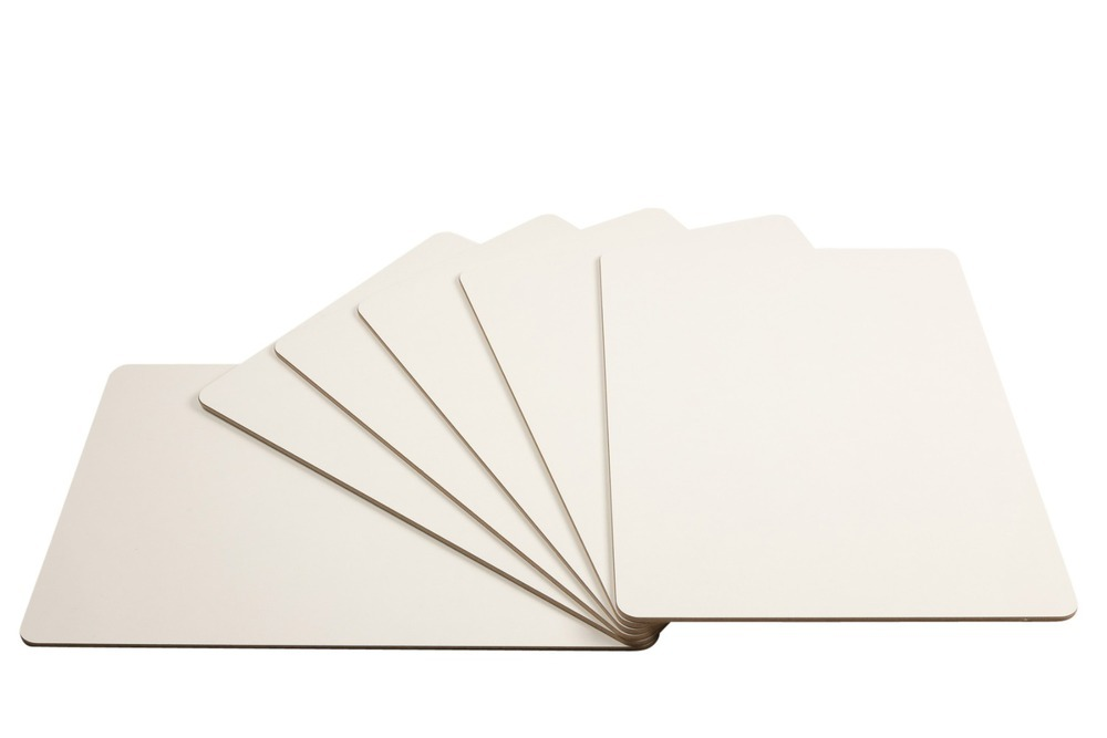 Drywipe Board A3 6mm Rigid White
