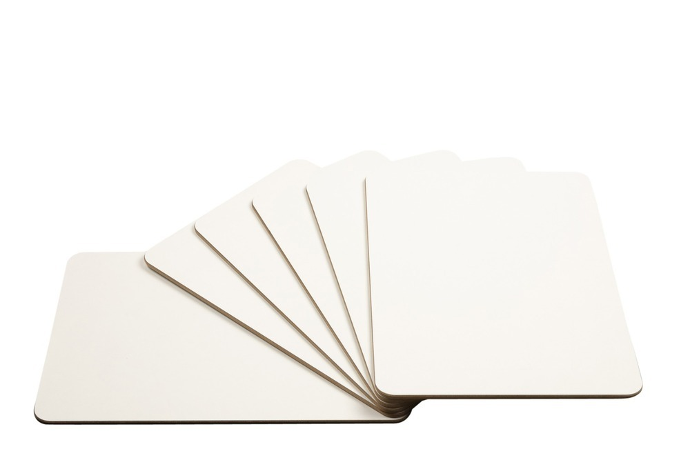Drywipe Board A4 6mm Rigid White